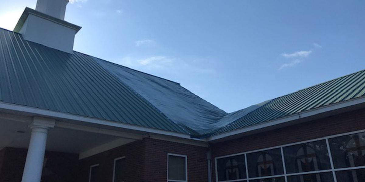 James Island church rebuilding after hurricane rips part of roof off