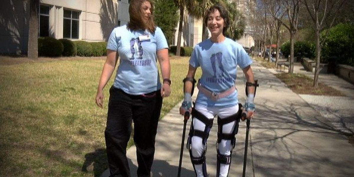 Local paralyzed woman takes on Bridge Run for awareness campaign