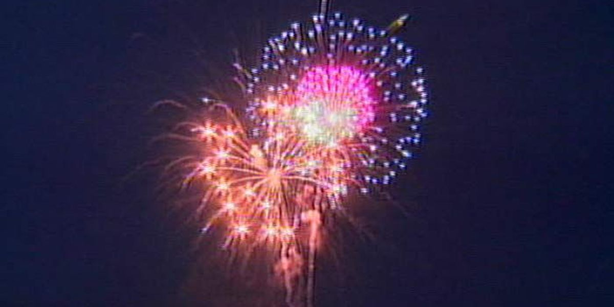 N. Charleston celebrates 4th of July with fireworks display