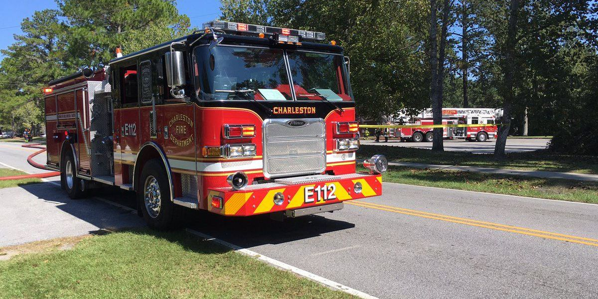 Fire Marshals investigating fire on church property in W. Ashley