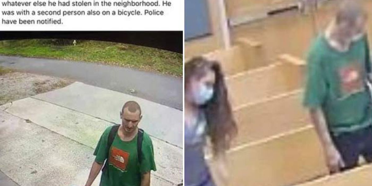Police: Accused 'porch pirate' arrested when he shows up at court in same shirt from surveillance pics