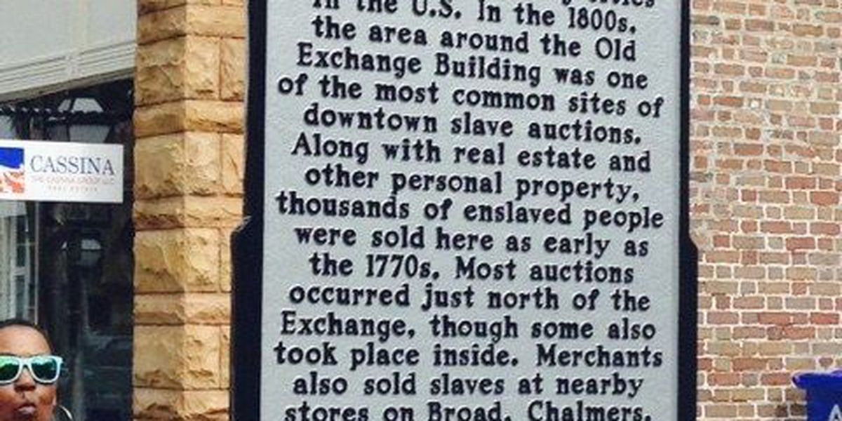 New marker hopes to tell clearer story of slave auctions