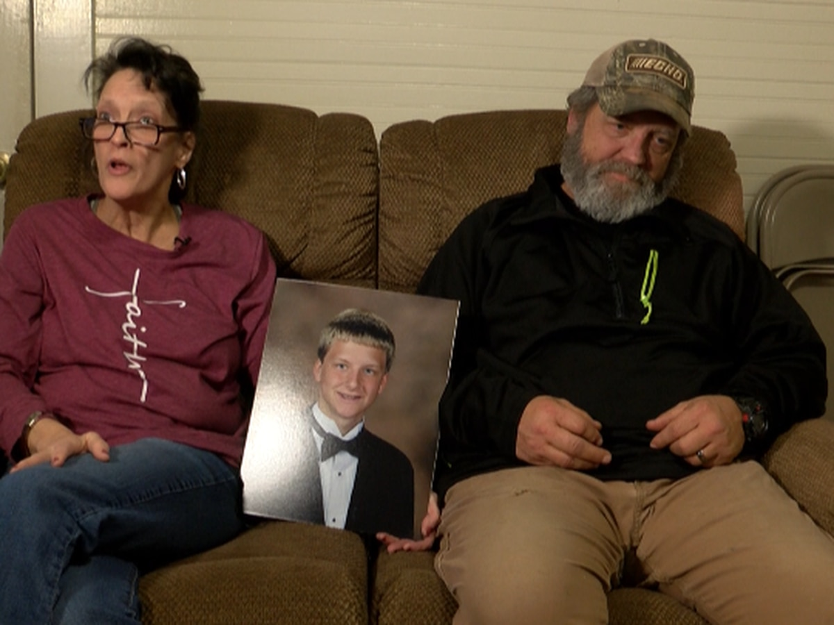 Through tears, parents remember volunteer firefighter son murdered in domestic violence incident