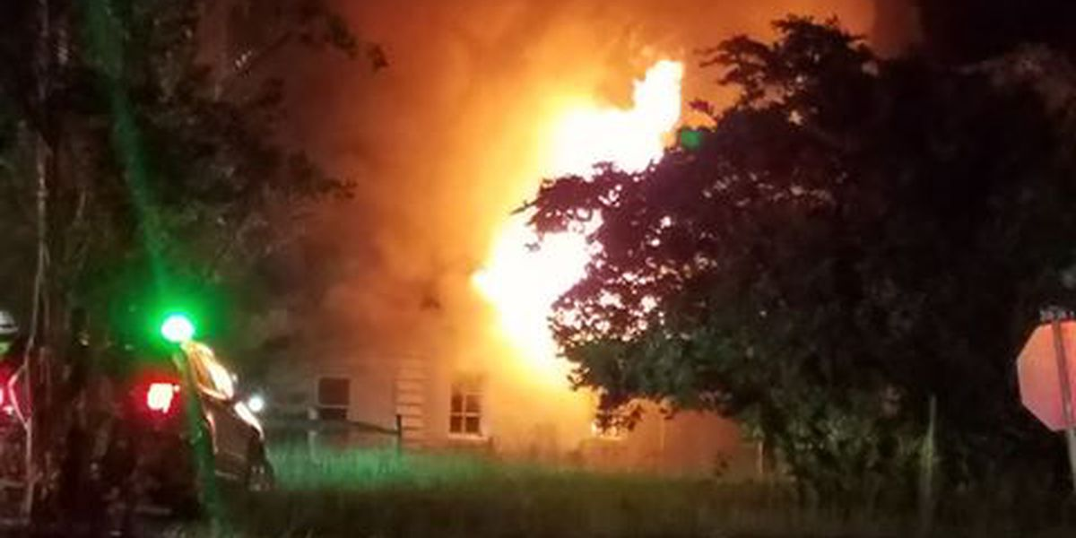 Three people taken to the hospital following house fire in Hanahan
