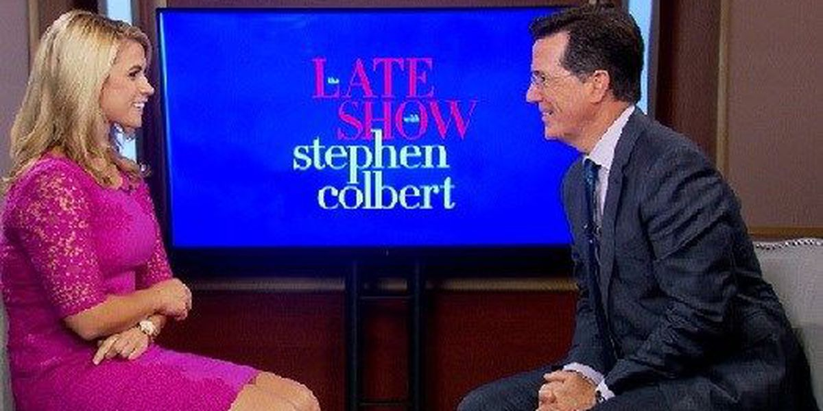 Live 5 talks to Stephen Colbert ahead of new hosting gig