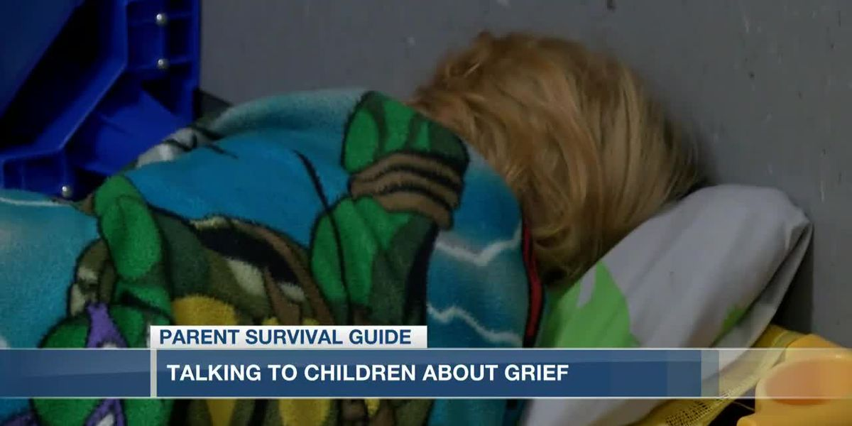 VIDEO: Parent Survival Guide: Helping kids process grief during COVID-19