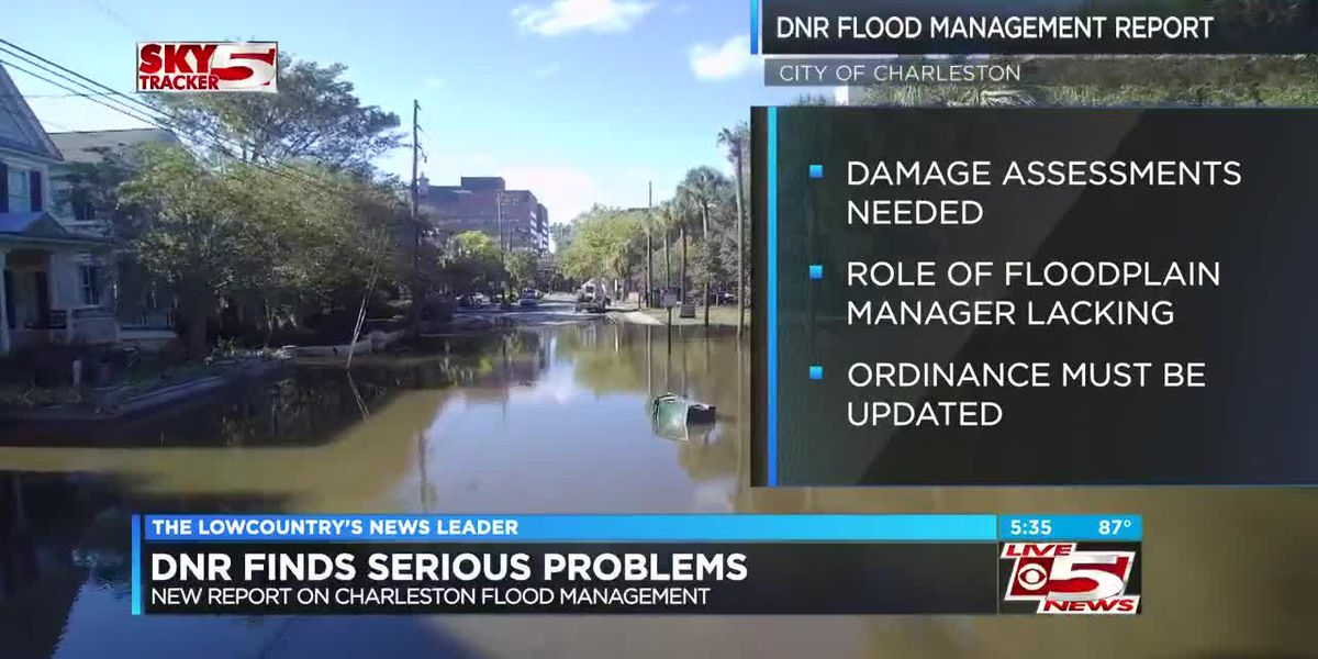SCDNR: Serious problems with Charleston's flood program
