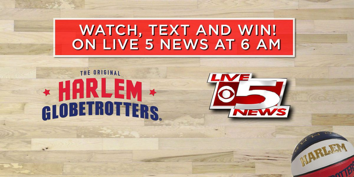 Text to Win: Family 4 pack to the Harlem Globetrotters