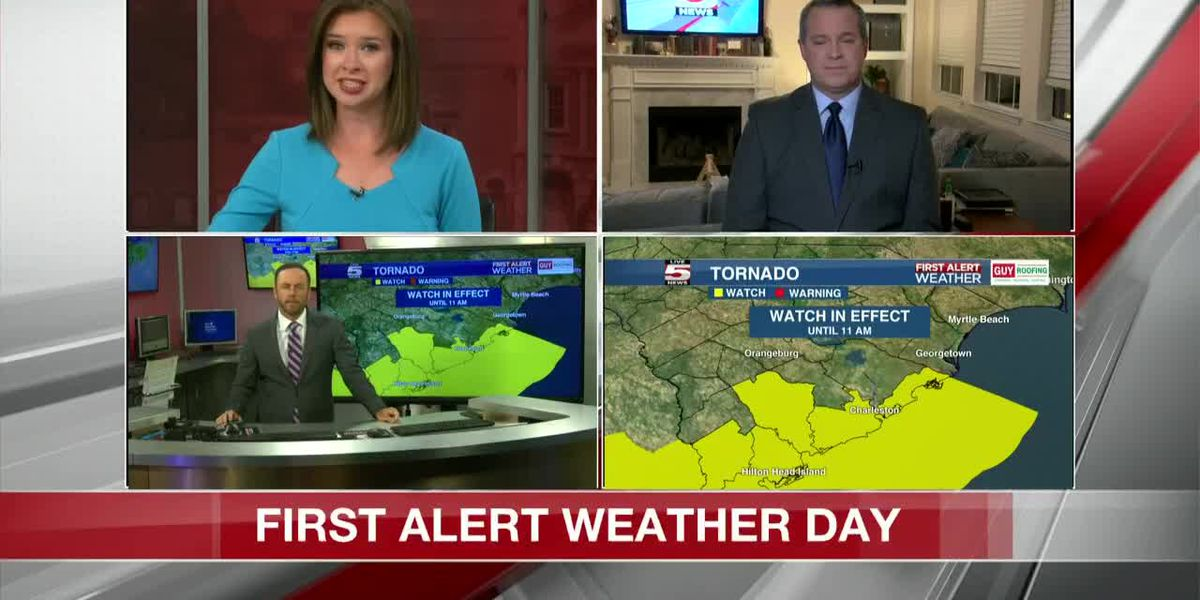 VIDEO: Damaging winds, flooding possibles as storms move toward Lowcountry