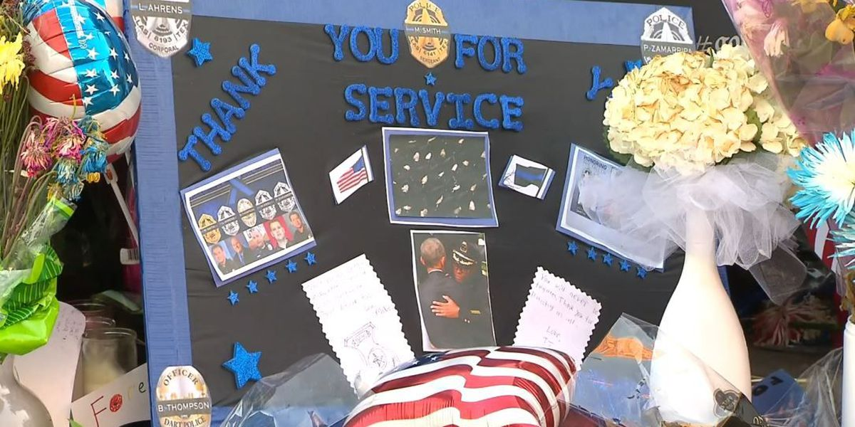Tri-County communities showing support for law enforcement officers