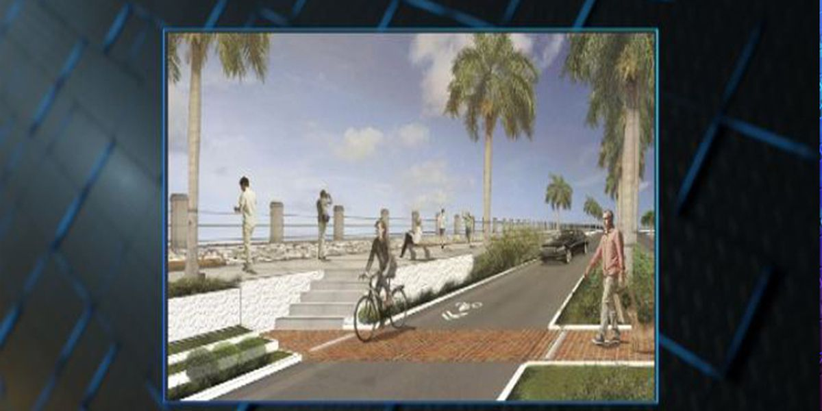 Multi-year project to replace Battery seawall now underway