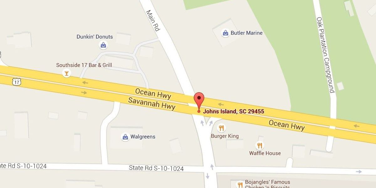 Officials reopening Main Road at Savannah Highway from 2-6 p.m. for cars going onto Johns Island