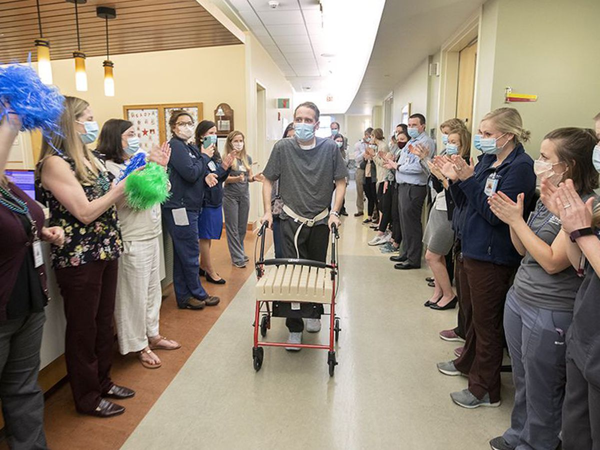 MUSC celebrates recovery of first COVID-19 lung transplant patient