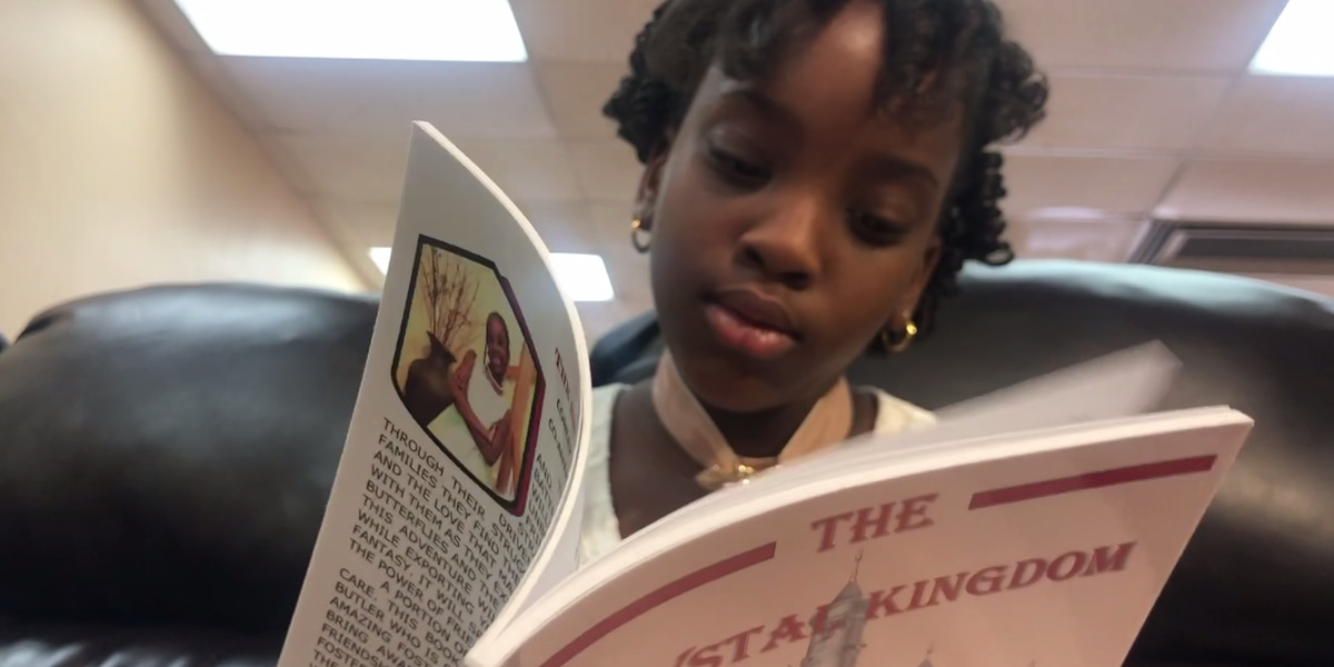 9-year-old girl publishes book to bring awareness to children in foster care
