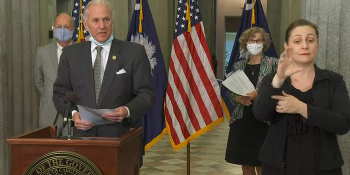 Gov. McMaster orders school districts to plan for in-person school this fall