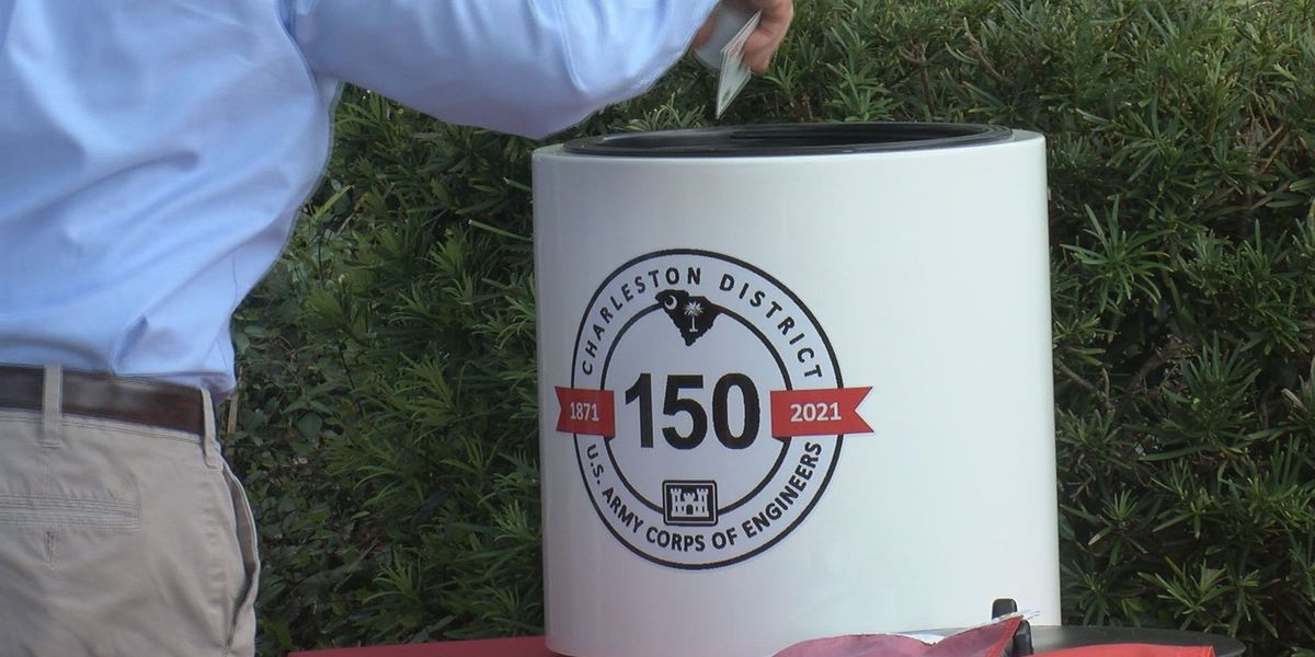 US Army Corps of Engineers, Charleston District celebrates 150 years with time capsule