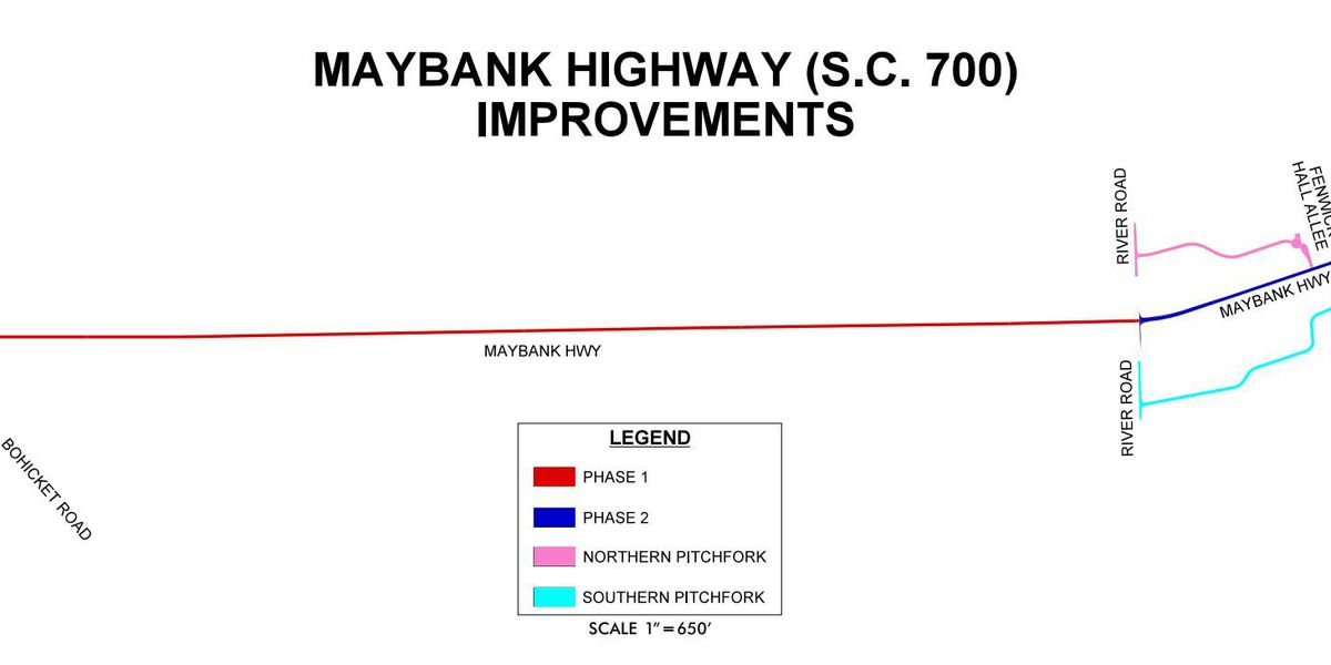 Public meeting scheduled on Maybank Highway Improvements Project