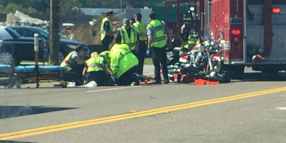 Two hospitalized in Savannah Hwy. motorcycle wreck