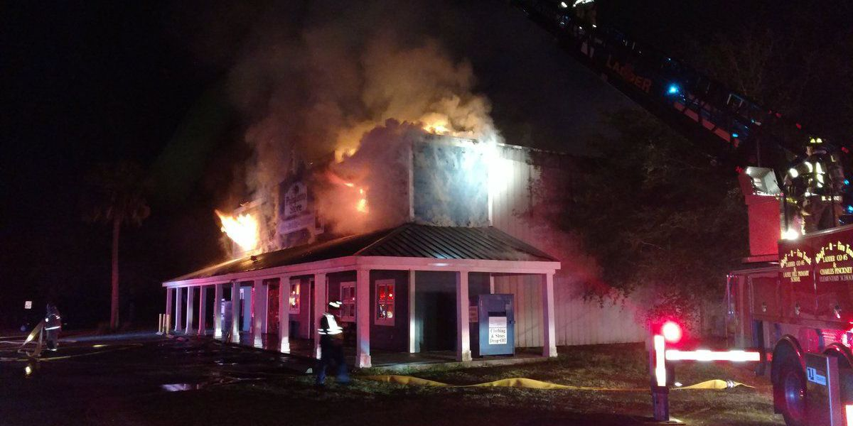 Awendaw Fire responds to overnight structure fire