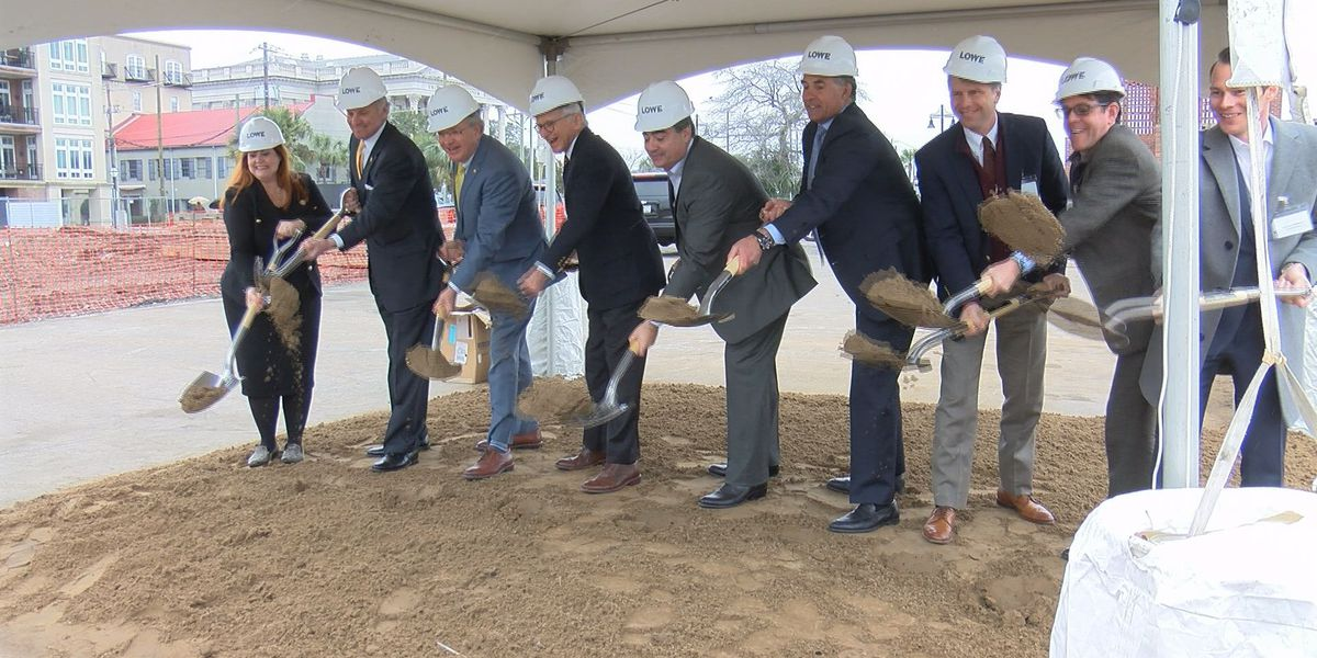 Groundbreaking ceremony held for waterfront hotel in Charleston