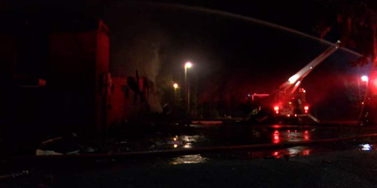 State agents investigating late-night fire that destroyed Berkeley Co. church