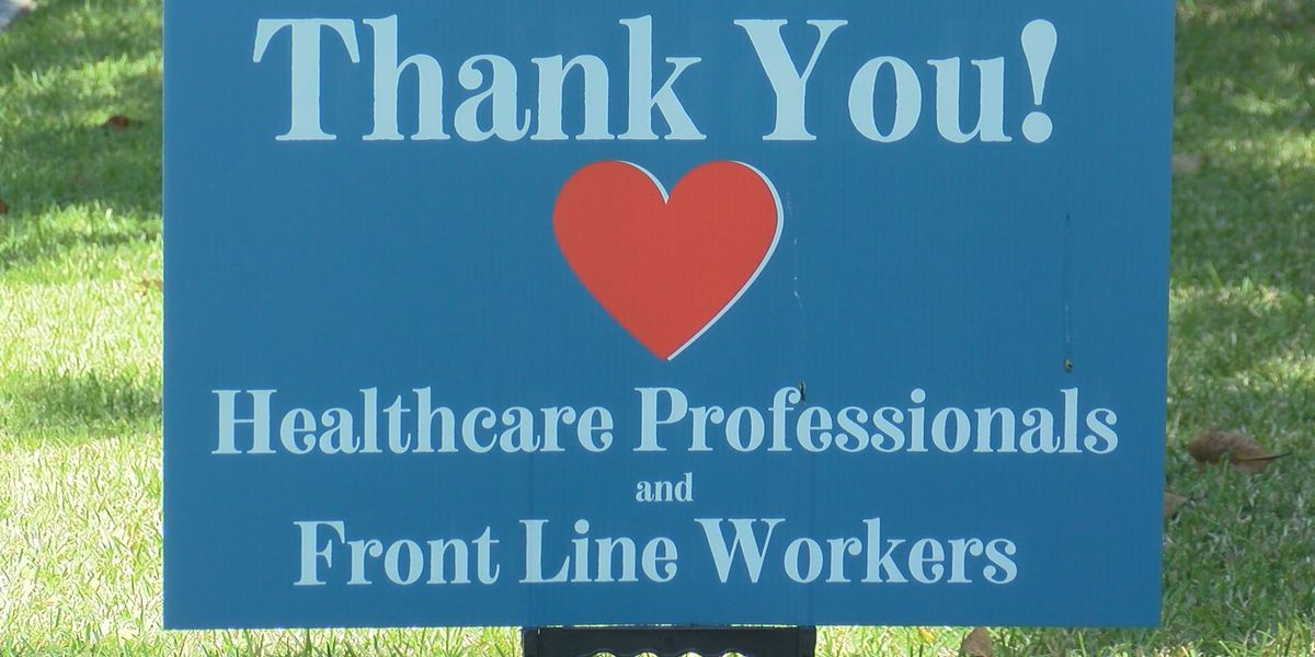 Lowcountry Strong: Yard signs show support for healthcare professionals, front line workers