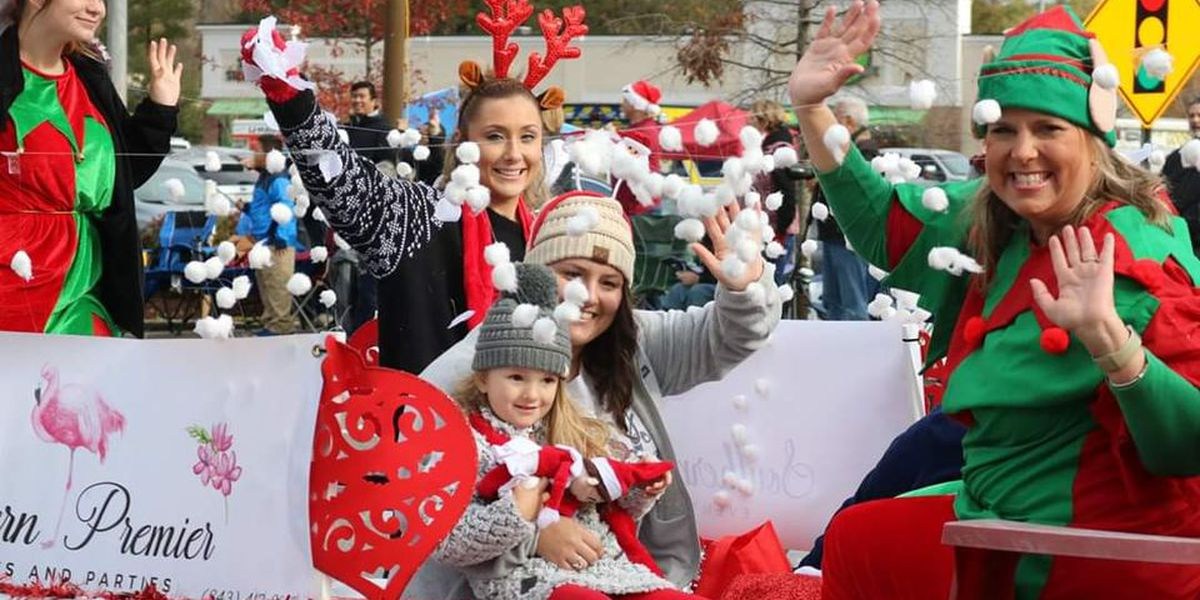 Christmas in the Creek Holiday Parade held Saturday