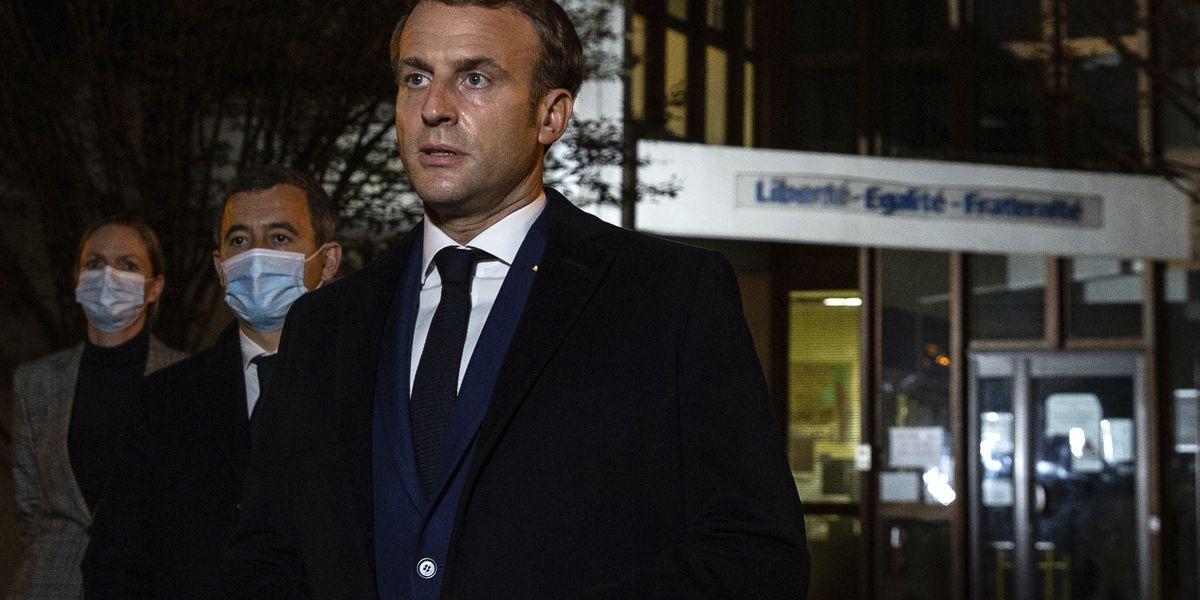 Empty Parisian sidewalks as France enters day 1 of lockdown