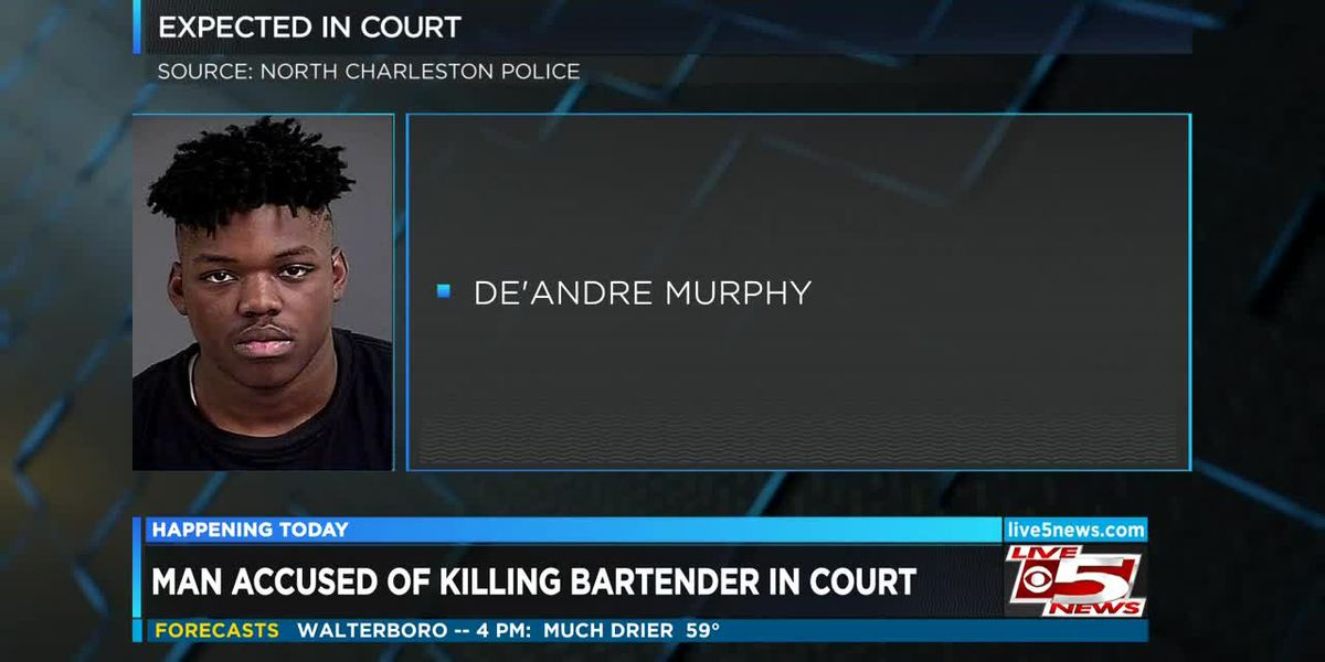 VIDEO: Man accused of killing N. Charleston bartender to appear in court