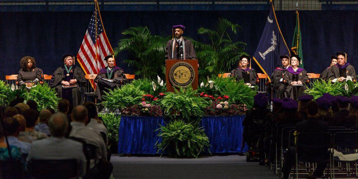 Charleston School of Law celebrates large graduating class