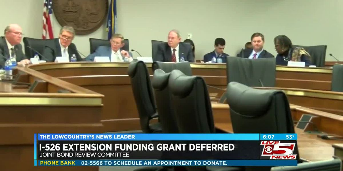 Committee defers granting funding for state's portion of money needed to extend I-526