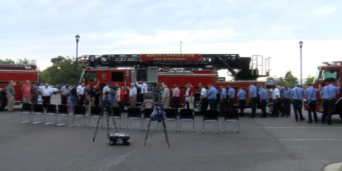 N. Charleston Fire Department takes delivery of 3 new fire trucks