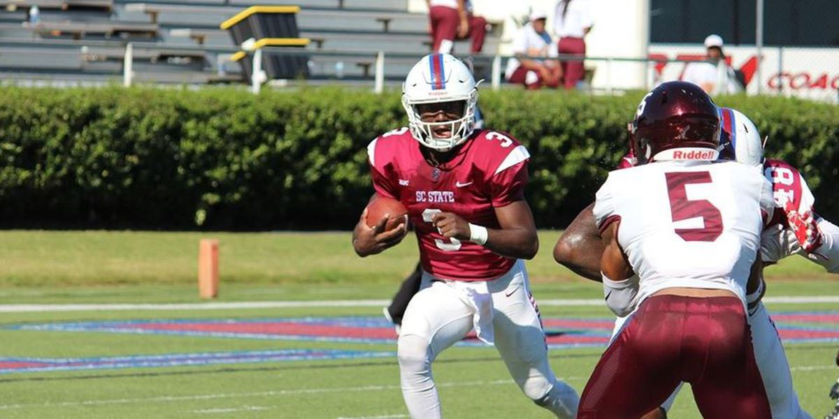 Fumble recovery in end zone helps Bethune-Cookman win 28-26 over SC State