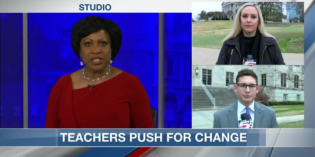 VIDEO: Lowcountry teachers claim they were denied meetings with lawmakers