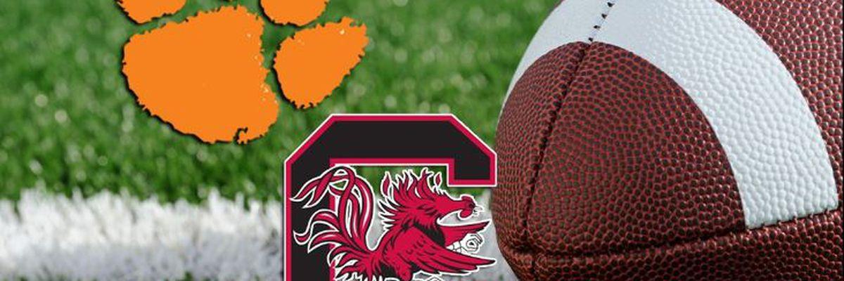 South Carolina-Clemson game will kickoff at 7 pm
