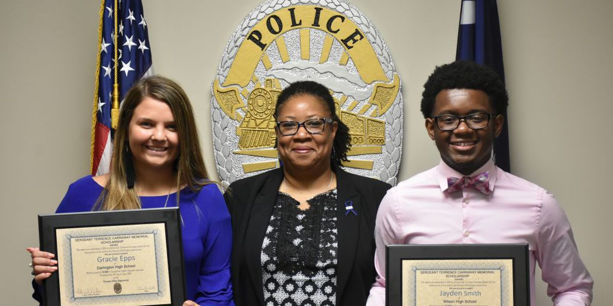 Two Pee Dee students awarded 'Sgt. Terrence Carraway Memorial Scholarship'