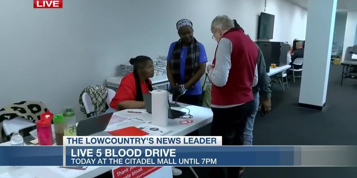VIDEO: Blood drive underway at Citadel Mall Thursday
