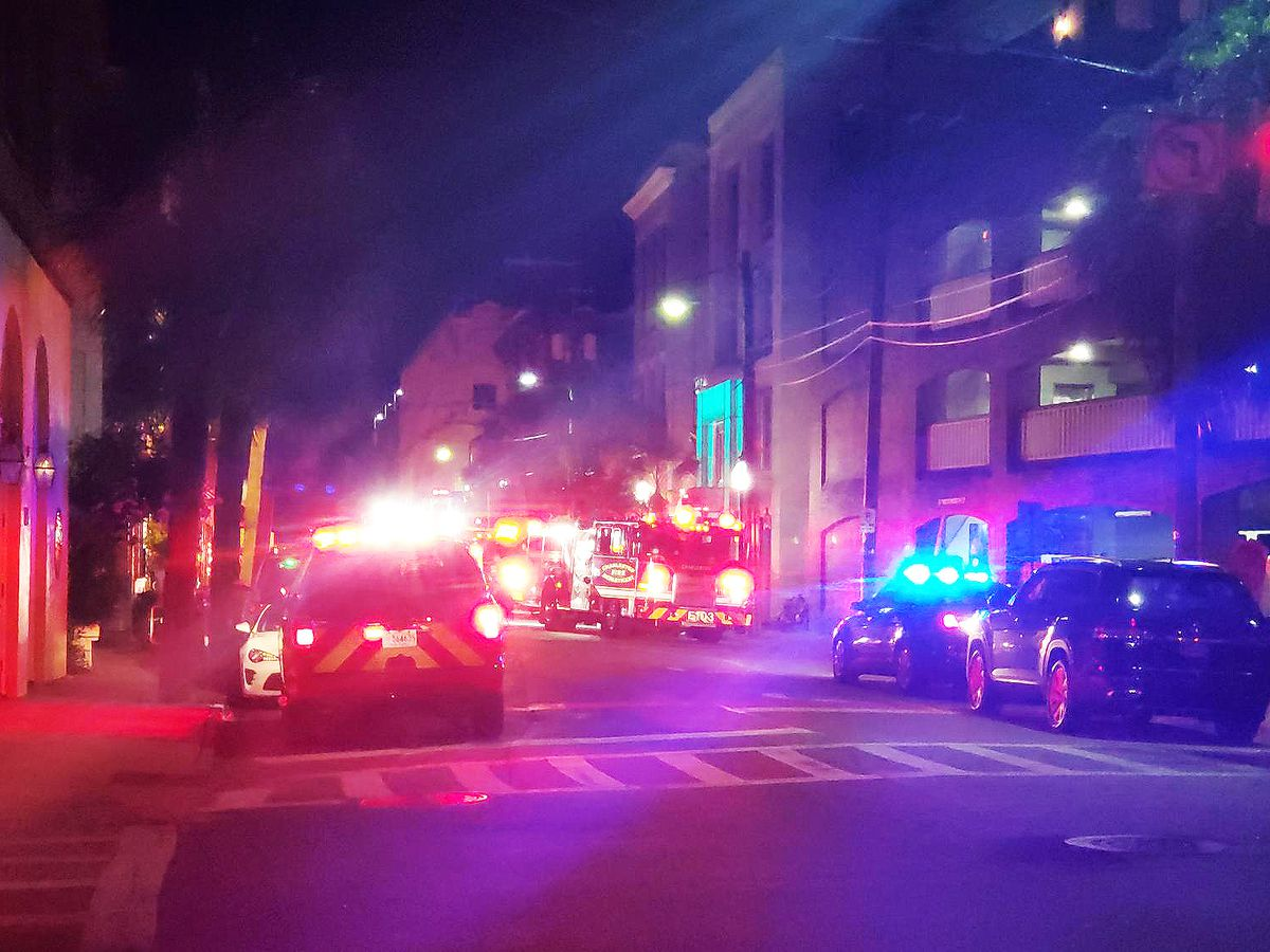Officials say discarded smoking material likely caused smoke odor at hotel