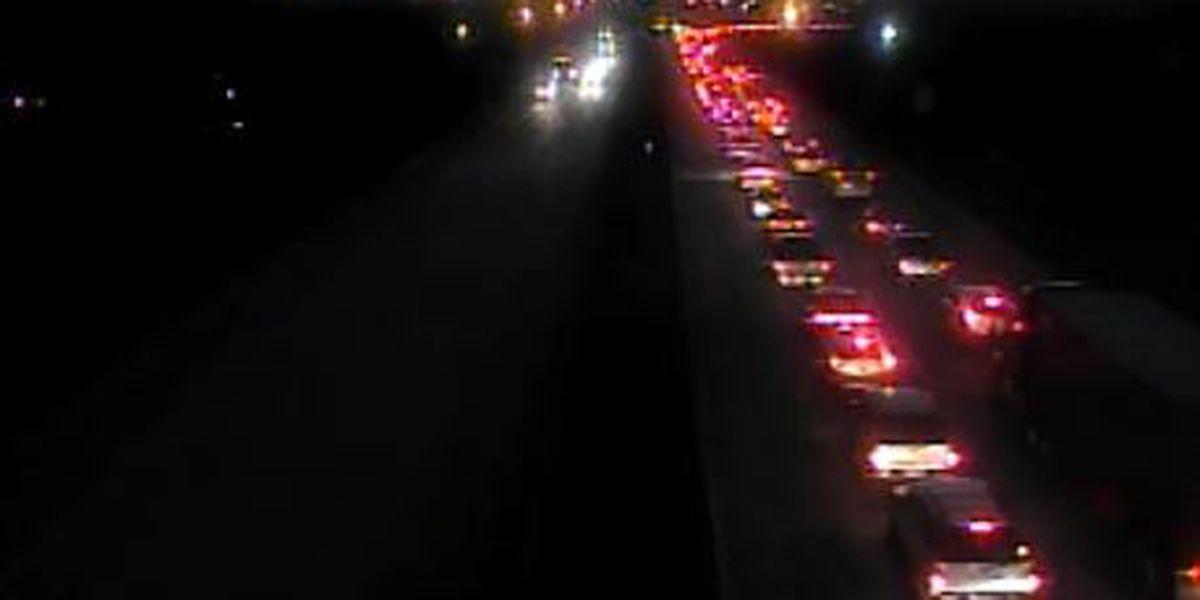 All lanes reopned after crash near Don Holt Bridge