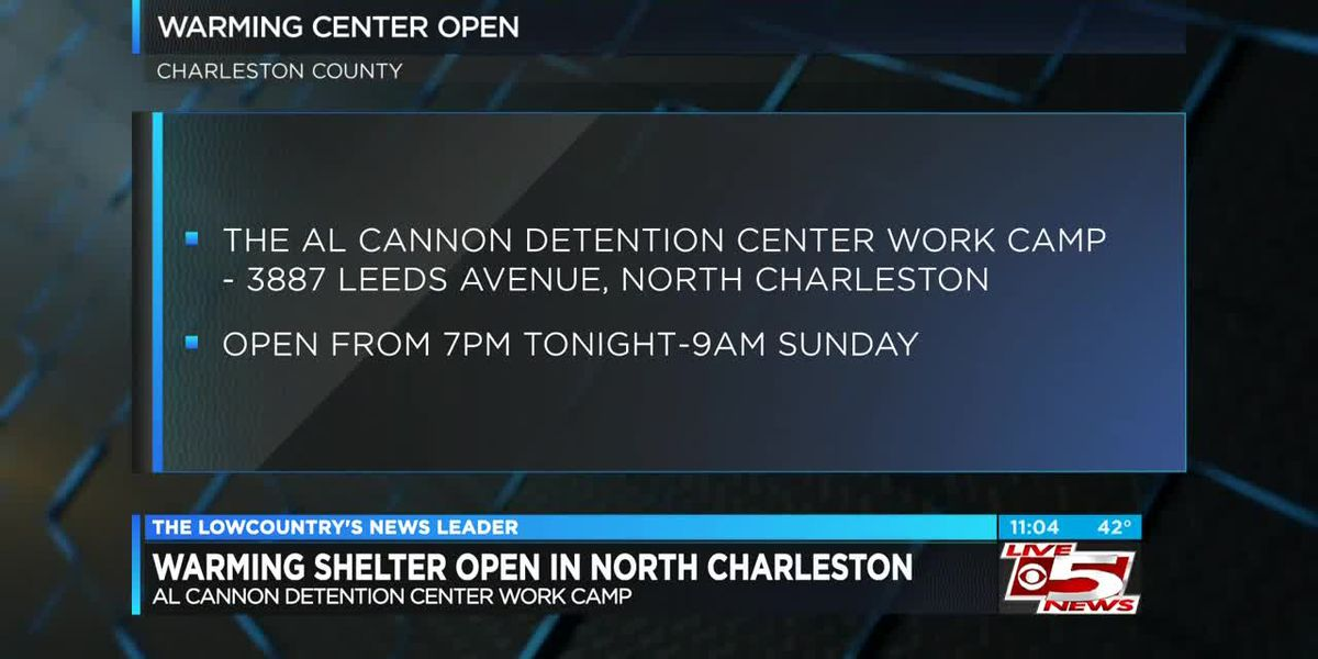 VIDEO: Charleston County Sheriff's Office to Open Warming Center