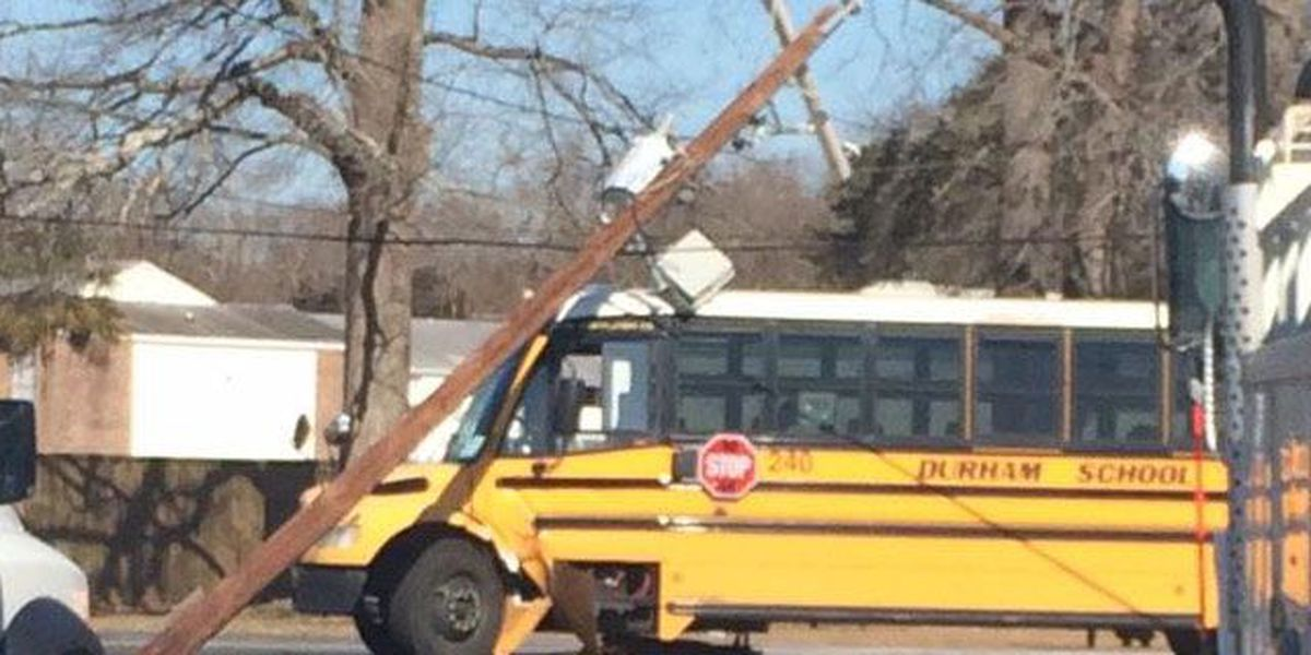 SCE&G: School bus hits power pole, forces early dismissal of nearby school