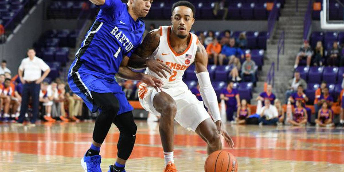 Clemson Ends Preseason with 89-80 Victory Over Barton College