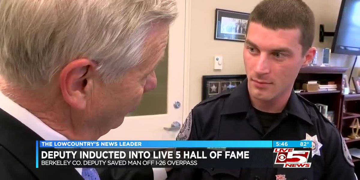 Hall of Fame: Berkeley Co. deputy honored for saving man threatening to jump from overpass