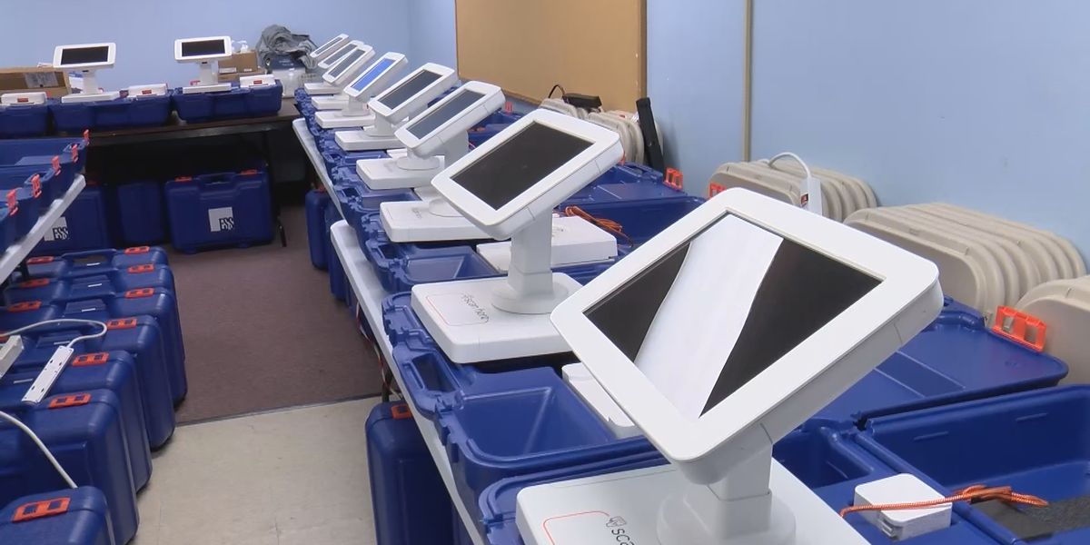 Some S.C. poll workers still not trained on new system days before election