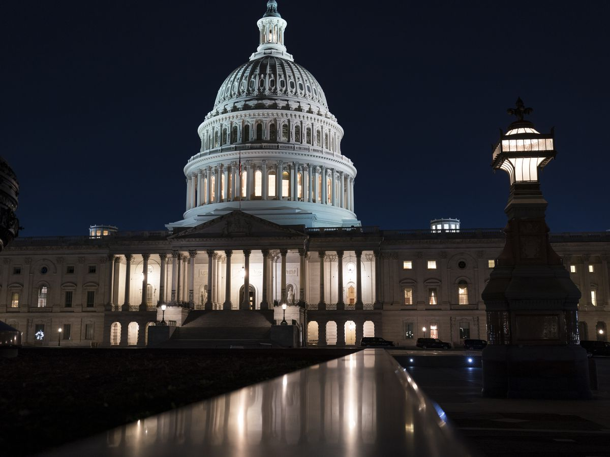 Senate works through night with virus, stimulus checks bill on path to passage