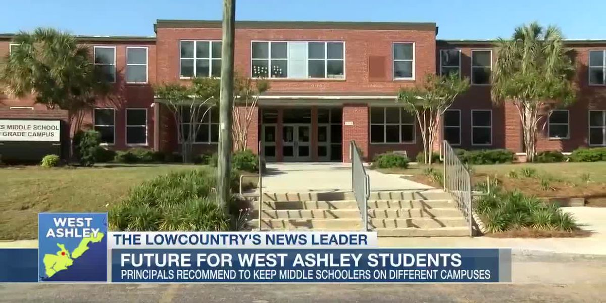 VIDEO: West Ashley students could continue on separate campuses