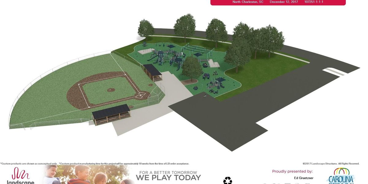 N. Charleston plans to build largest playground designed for kids with disabilities
