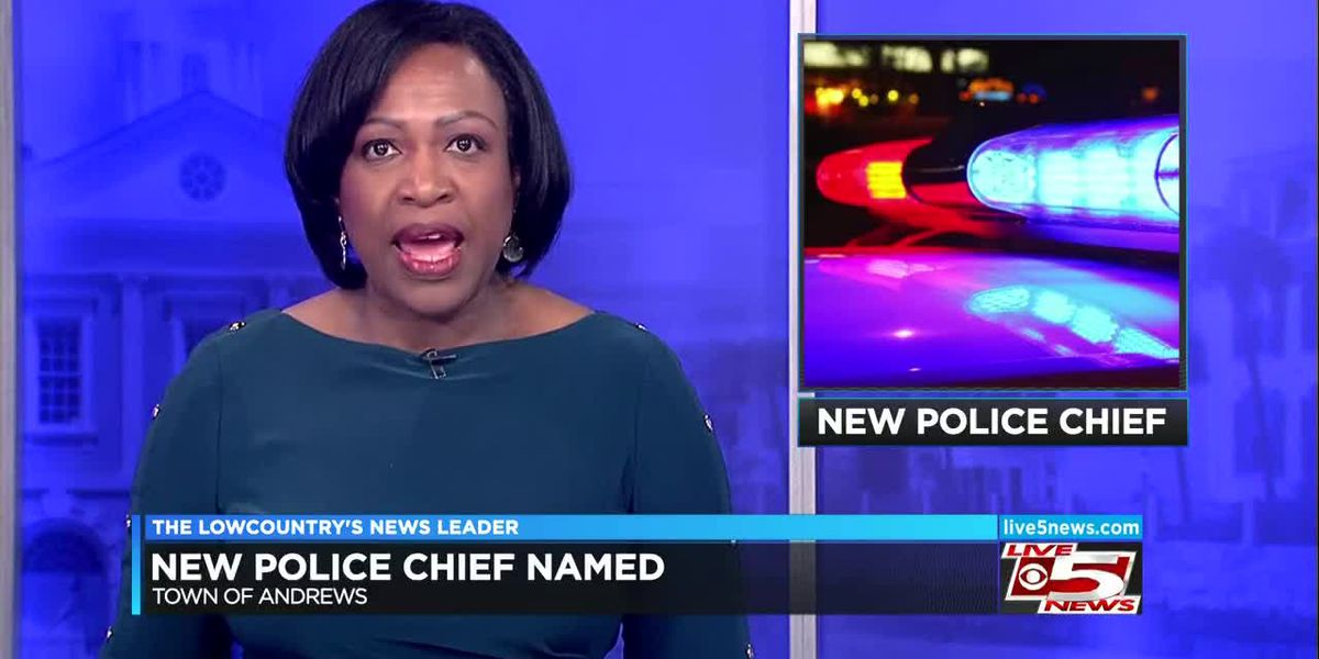 VIDEO: Andrews names new police chief