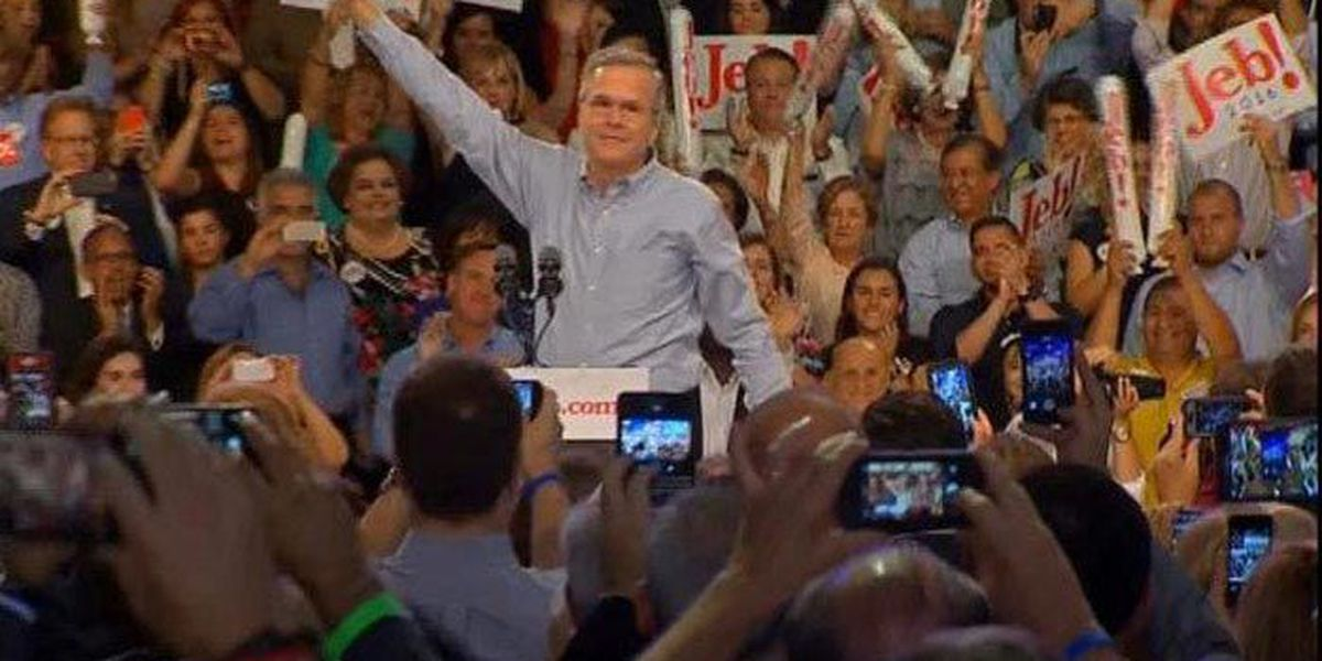 Presidential candidate Jeb Bush makes stop in the Lowcountry on Thursday