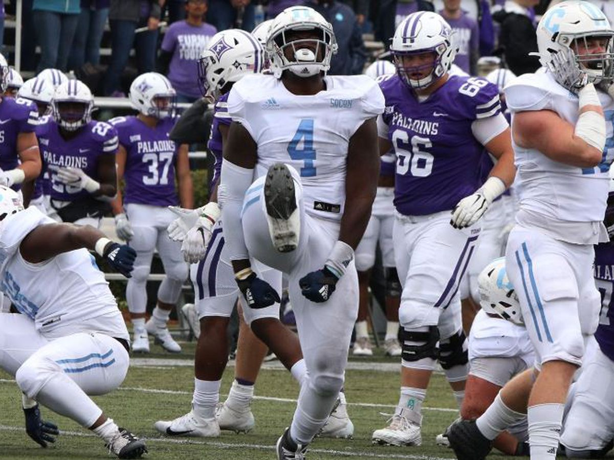 Rainey runs for 169 yards; The Citadel stuns Furman, 27-10